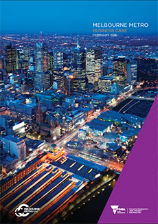 Melbourne Metro Business Case cover
