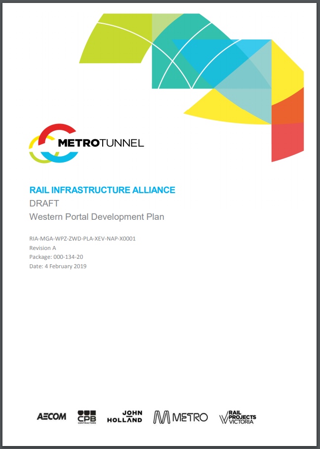 Western Portal Development Plan