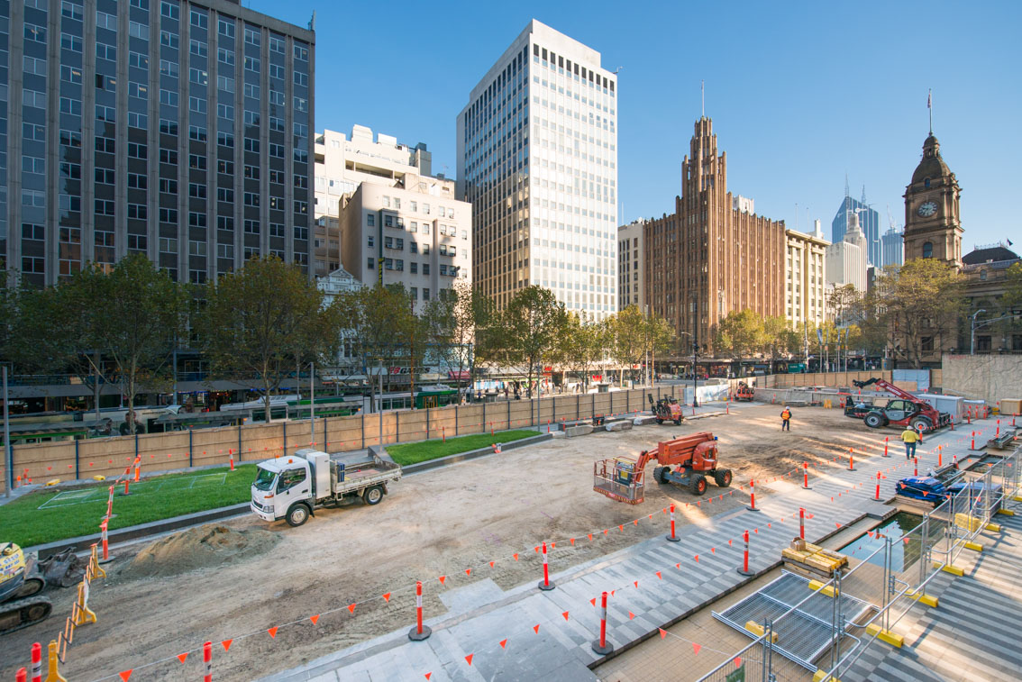City Square work site, May 2017.