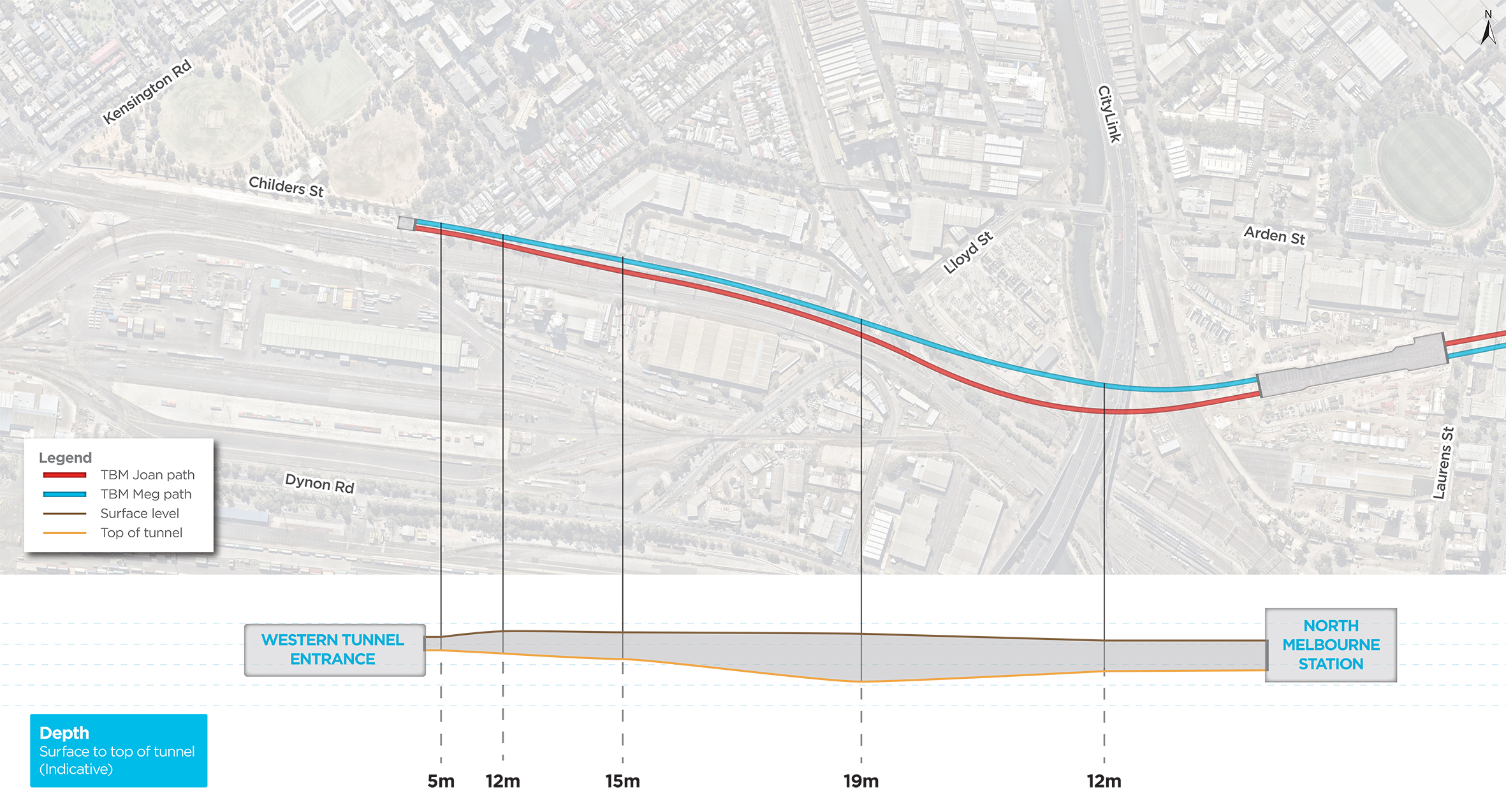Building the Metro Tunnel | Building the tunnels and