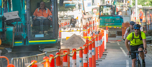 Changes to St Kilda Road