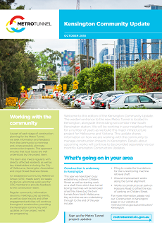 Cover of the Kensington Community Update