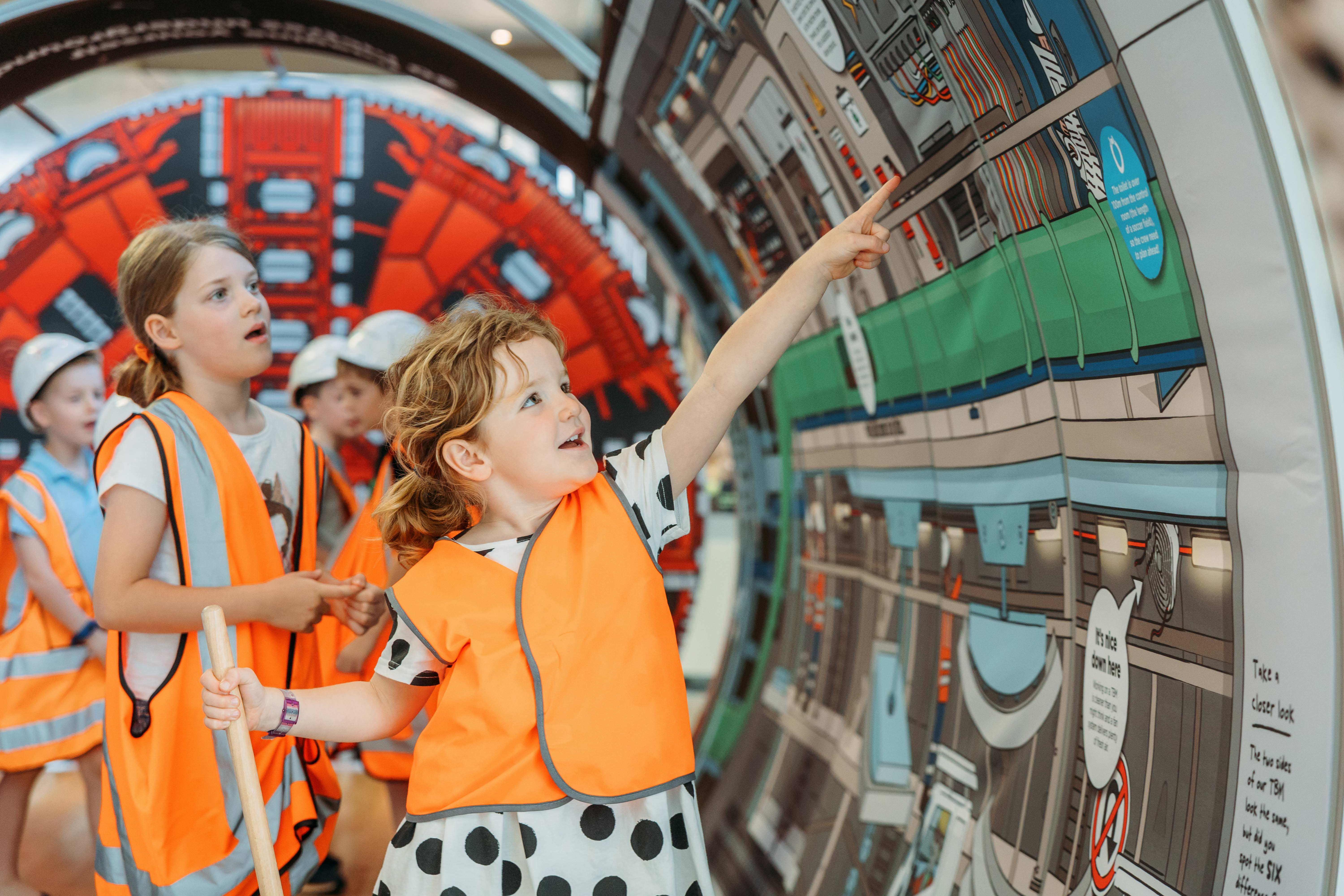 School holiday fun! Mini Tunnels at Melbourne Museum
