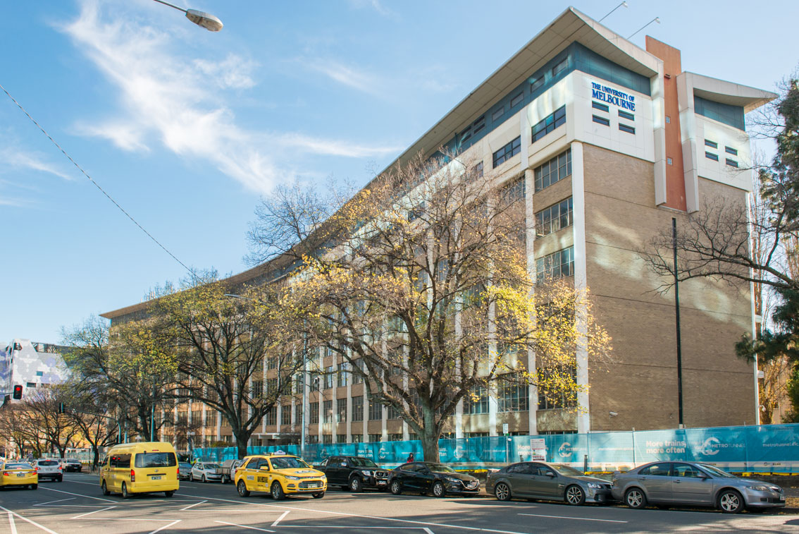 The University of Melbourne's Faculty of Medicine, Dentistry and Health Sciences, in June 2017.